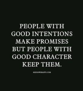 Good charactor