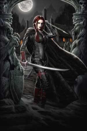 female,vampire,art,vampire,hunter